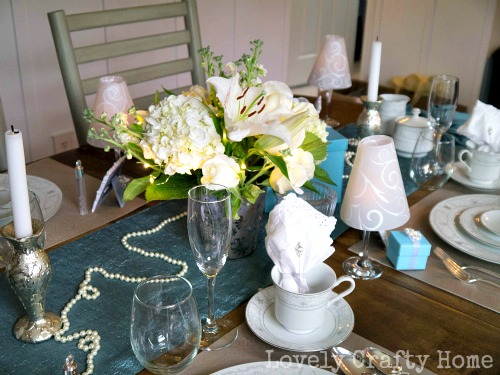 bridal brunch table