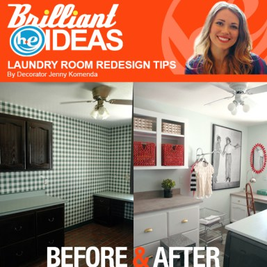 P&G THD Tide Maytag Laundry Room Tips Image