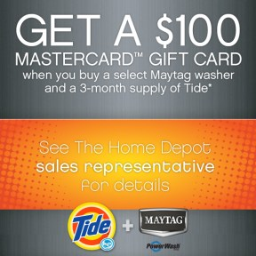 P&G THD Tide Maytag Promotion Image