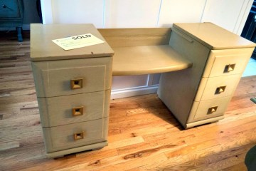 vanity to nightstands