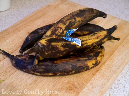 yellow-black plantains