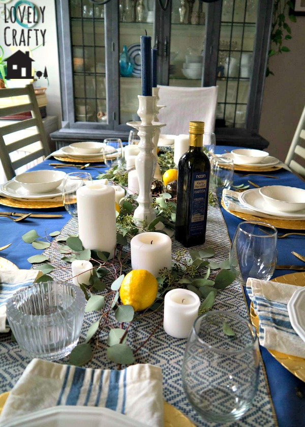 Greek Inspired Table