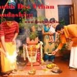 Dev Uthani Ekadashi Wishes in Hindi Tulsi Vivah Images Wallpaper 2015