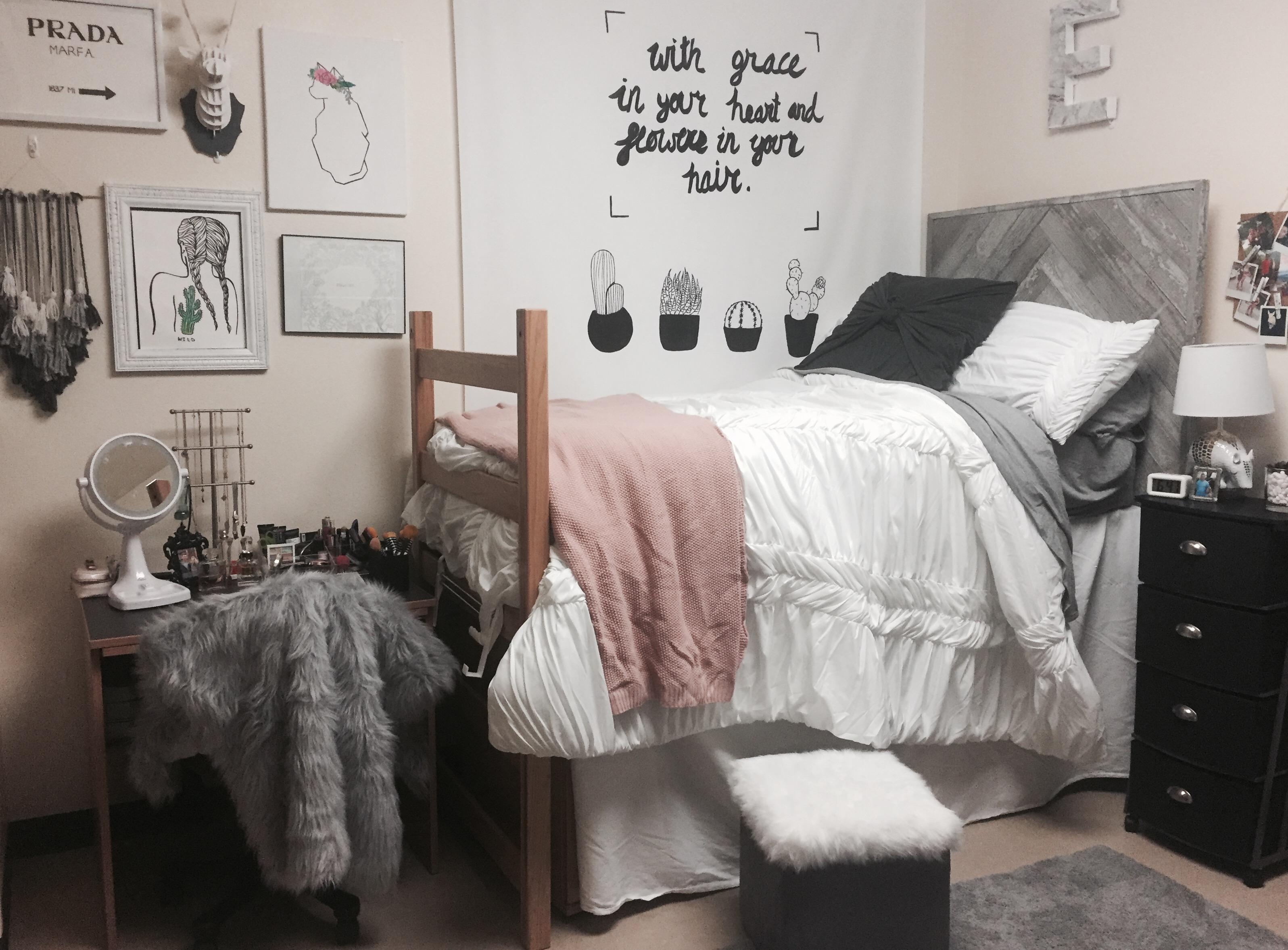 Cheerful College Dorm Room Ideas College Dorm Room Ideas Dorm Room Ideas To Make Your Space More Senior Dorm Room Decor Dorm Room Ideas Pinterest bedroom Dorm Room Stuff