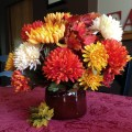 DIY Fall Flower Arrangement in a Bean Pot! | Love My DIY Home