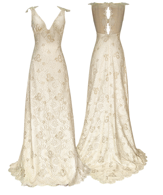 Claire Pettibone Wedding Dress: Claire Pettibone Couture Bridal