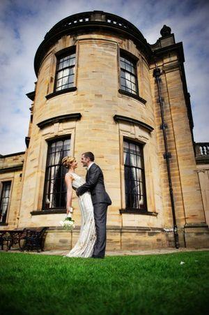 A Beautiful Beamish Hall Wedding of Simple, Chic Elegance... (Weddings )