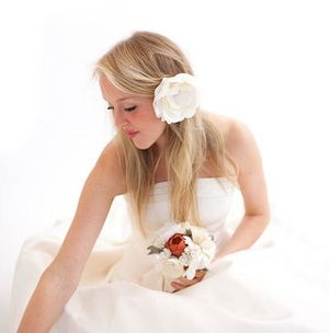 Emersonmade ~ Exquisite Hand-dyed & Hand-stitched Blooms & Accessories... (Weddings )