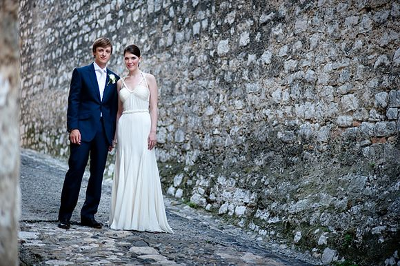 Amanda Wakeley Bridal Elegance for a Poolside, French Villa Wedding... (Weddings )