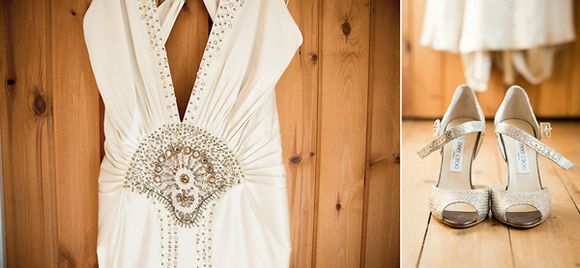 Vintage Meets Rustic for a Barn Wedding in the Cotswolds... (Weddings )