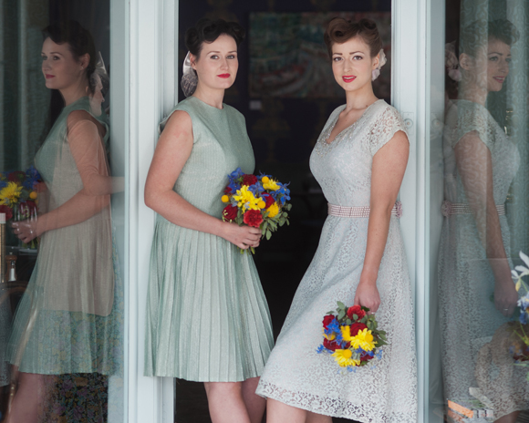 1940s Bridesmaids