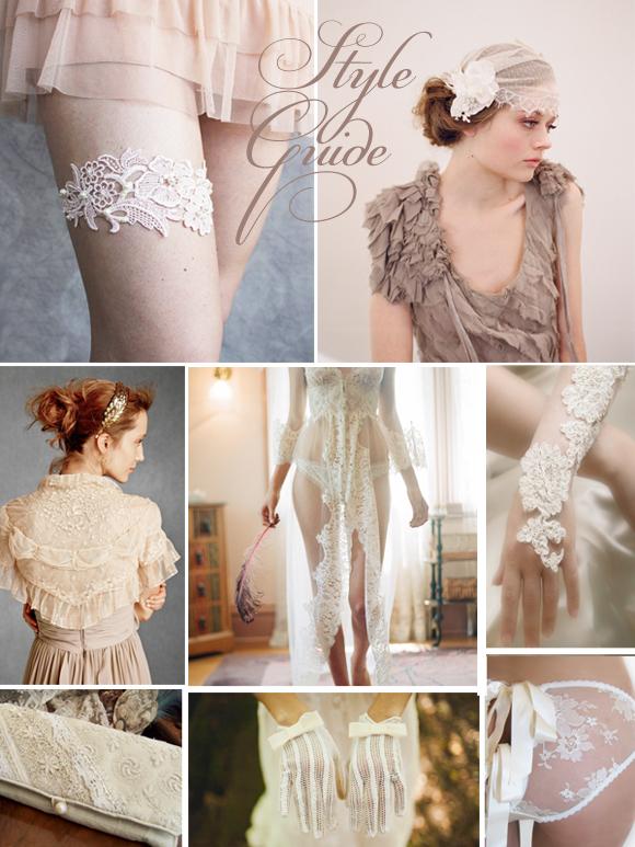 Bridal Inspiration Board #19 ~ Elegant Lace... (Mood + Inspiration Boards )