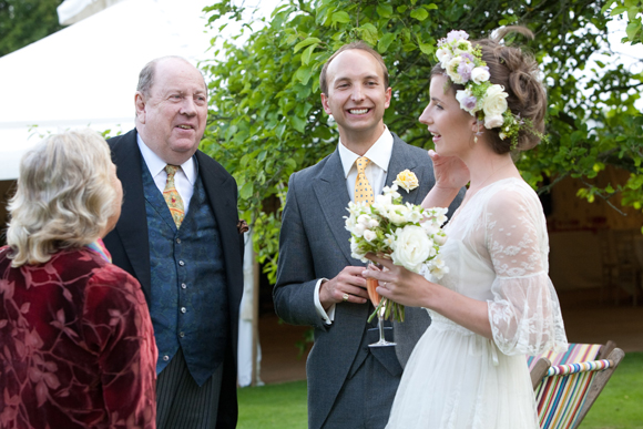 A Tiered, Edwardian Lace Wedding Dress for a Beatrix Potter Inspired English Summer Wedding... (Weddings )