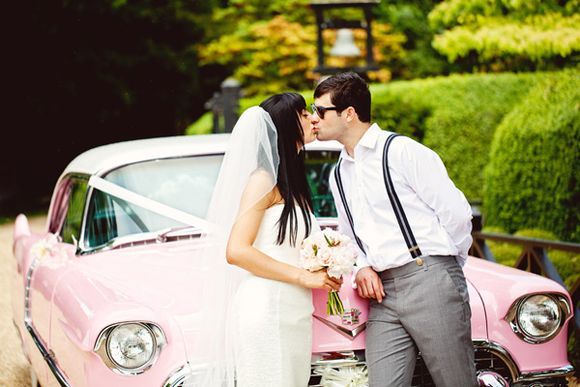 A 1950's Pink Cadillac and Pretty Pink Peonies... (Weddings )