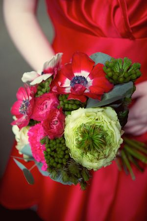 Art Nouveau 1930s Meet Vibrant 1950s ~ A Floral Fancy Delight At The House For An Art Lover... (Styled Shoots )