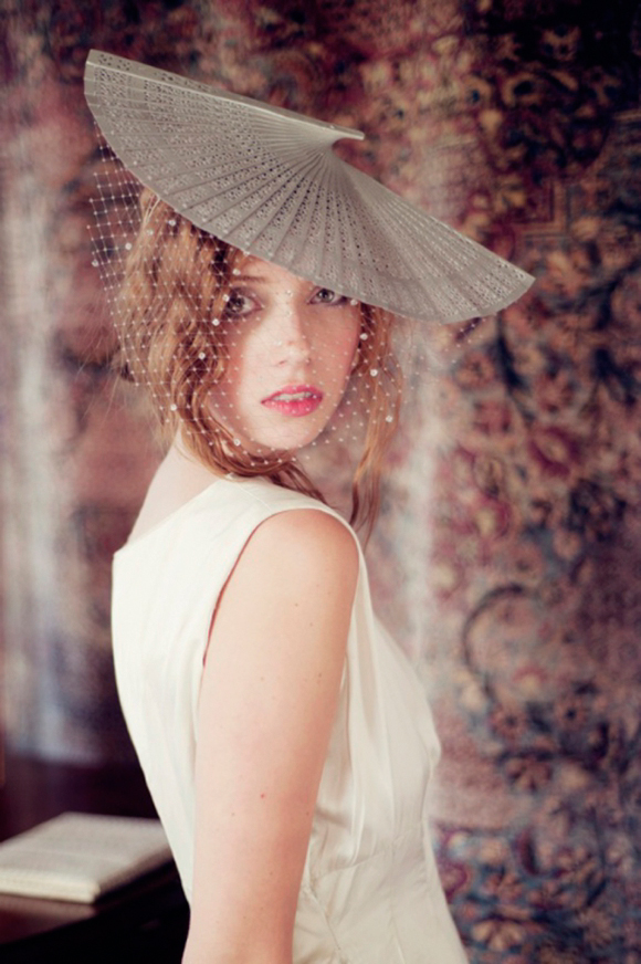 Rachel Drewer Millinery ~ Bright Young Things, 2012... (Weddings )