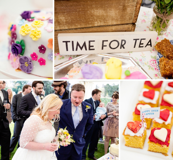 A Candy Anthony Polka Dot Dress for a Quintessentially English Afternoon Tea Wedding - With A 'Bake-Off!'... (Weddings )