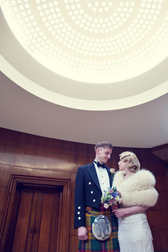 The Glamour of the 1920s and 1930s for an Elegant, Art Deco Inspired Wedding at Eltham Palace... (Weddings )