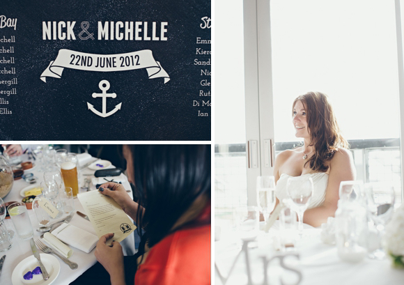 Sail Away With Me ~ A Beach Blue, Harbour-side, Nautical Style Wedding... (Weddings )