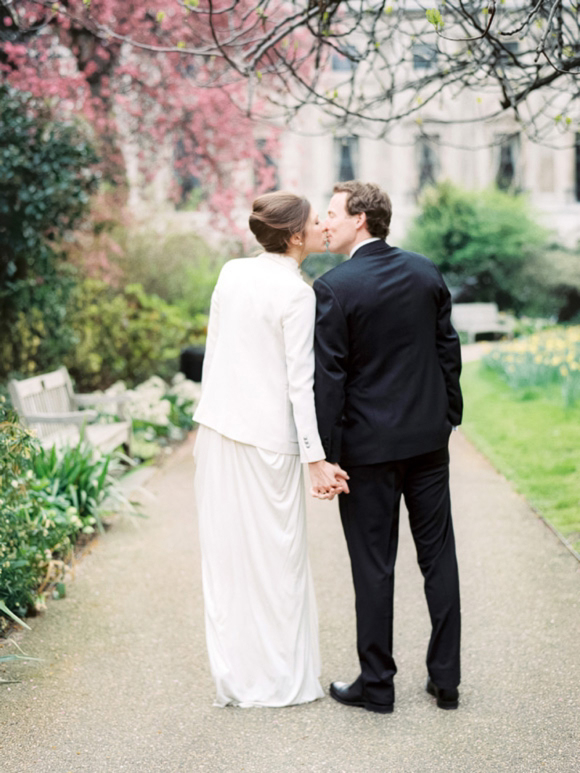 A David Fielden Dress and The Kooples Blazer for a 1920s Great Gatsby Inspired London Bride... (Weddings )
