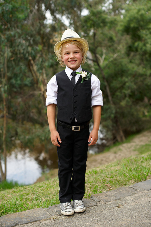 A Black and White Collette Dinnigan Dress for a Relaxed Family Australian Weddingu2026 | Love My ...