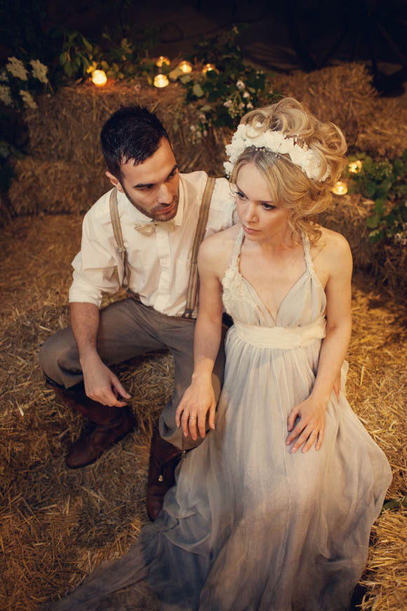 Liliia beautiful wedding dresses inspired by folklore for Nature inspired wedding dresses
