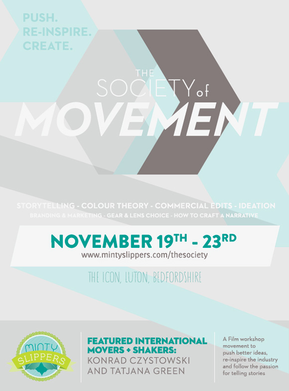 For The Attention Of All Film Makers ~ The Society of Movement (Films )