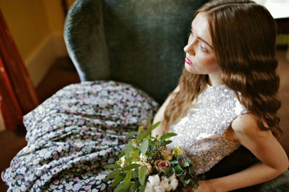 Modern Day Glamour and Ethereal Woodland Wedding Inspiration with The Glasgow Wedding Collective... ()