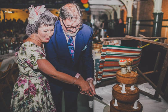 A very vintage wedding at Manchester Victoria Baths