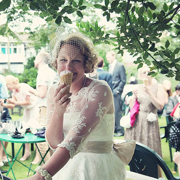 An Ice Cream Tricycle and Fifties Frills For A 1950's Inspired Seaside Wedding... (Weddings )