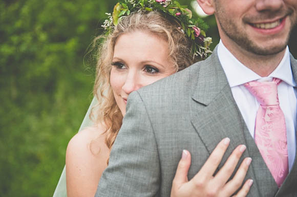A Midsummer Nights Dream Rustic Outdoor Wedding with a Sassi Holford Wedding Dress