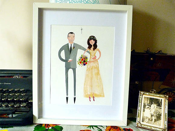 Illustrations for wedding and special occasions by Jolly Edition