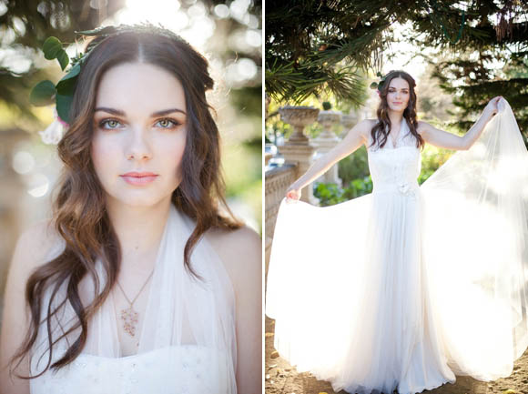 Vintage, Glamorous and Romantic Wedding Hair and Makeup Inspiration (Beauty )