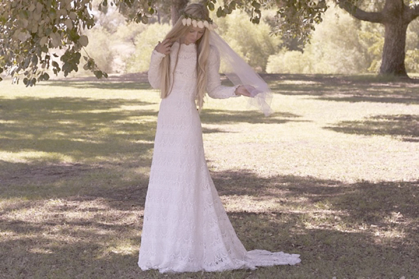 Original Vintage and Vintage Inspired 1970s Bohemian Wedding Dresses By Daughters of Simone (Bridal Fashion Fashion & Beauty Get Inspired Supplier Spotlight )