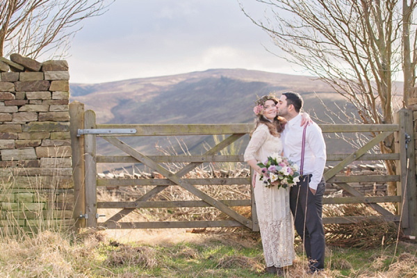 Rustic and Whimsical ~ Pretty Countryside Wedding Day Inspiration ()