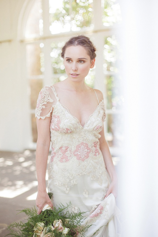 Pared Back Bridal Elegance Witih Claire Pettibone, Cymbeline and Amanda Garrett At The Orangery, Holland Park, London (Styled Shoots )
