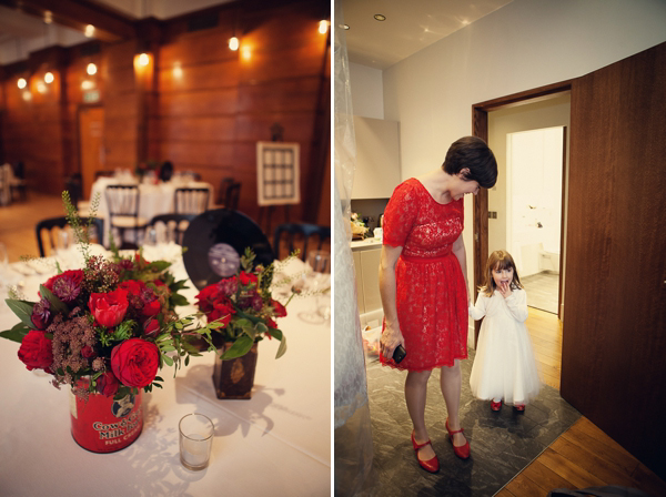 Red Wedding Shoes And A Flirty Fifties Frock (Weddings )
