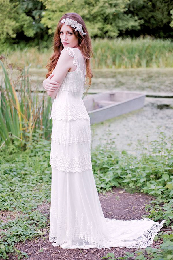 Yellow pale green and white wedding inspiration Claire Pettibone Alice Temperley Stephanie Allin