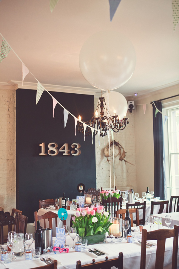 A 1950s and 1960's Inspired Pretty Polka Dot and Pale Blue Wedding (Weddings )