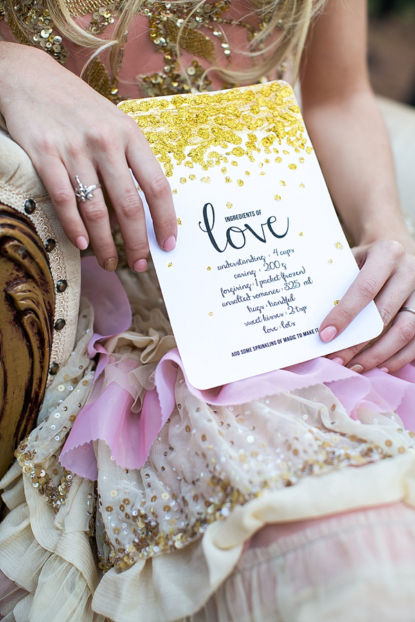 Beautiful Gold, Pink and Coral Wedding Inspiration (Films )