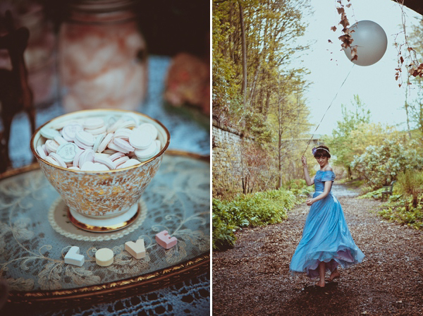 pastel colour wedding, alternative bridesmaids, alternative wedding, photograpy by Helen Russell
