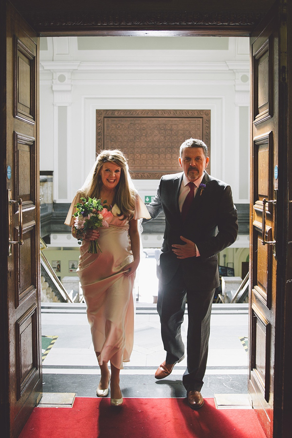 Pregnant bride, Islington Town Hall wedding, London pub wedding, expectant bride