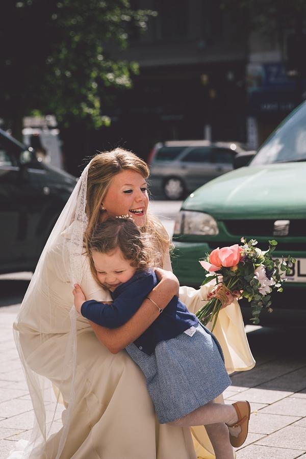 A Pregnant bride And Her Fun, Family Focused, London Pub Wedding (Weddings )