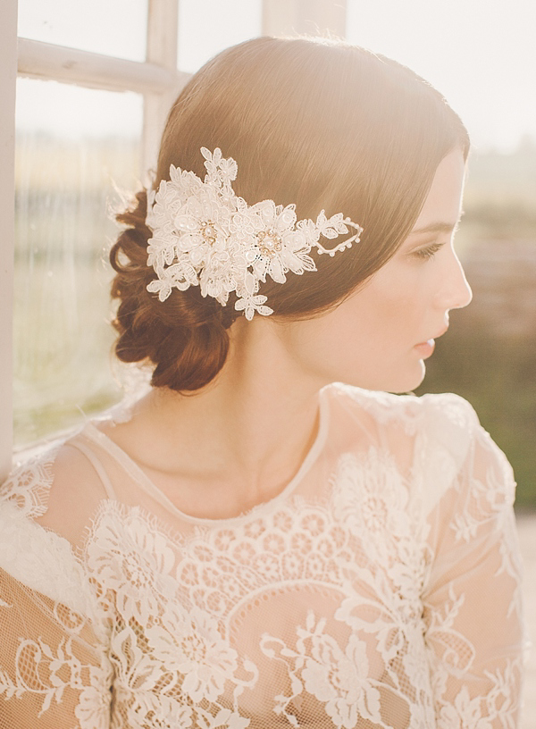 Jannie Baltzer 2014 collection ∼ Elegant Couture Headpieces For Brides ()