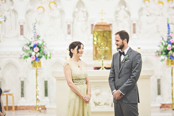An Antique Lace Wedding Dress For A Beautiful Irish Bride (Weddings )