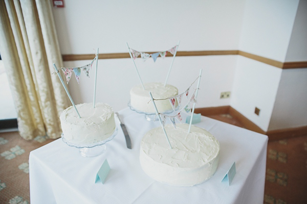 Pastel colour Spring time wedding in Scotland