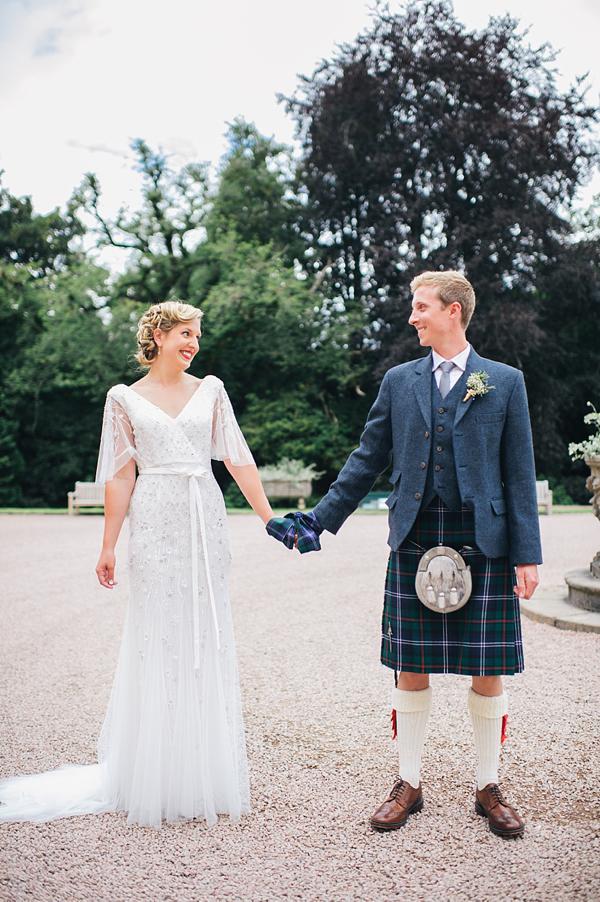 Anoushka g for a 1920 s elegance inspired scottish castle for Scottish wedding guest dress