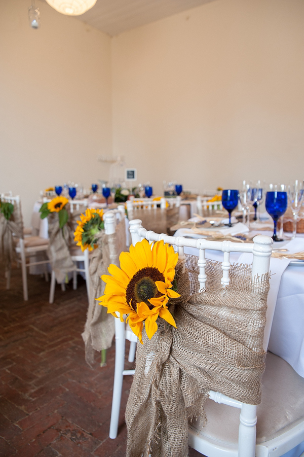 Sunflowers And Rustic Style For A Charming English Country Garden Inspired Wedding (Weddings )