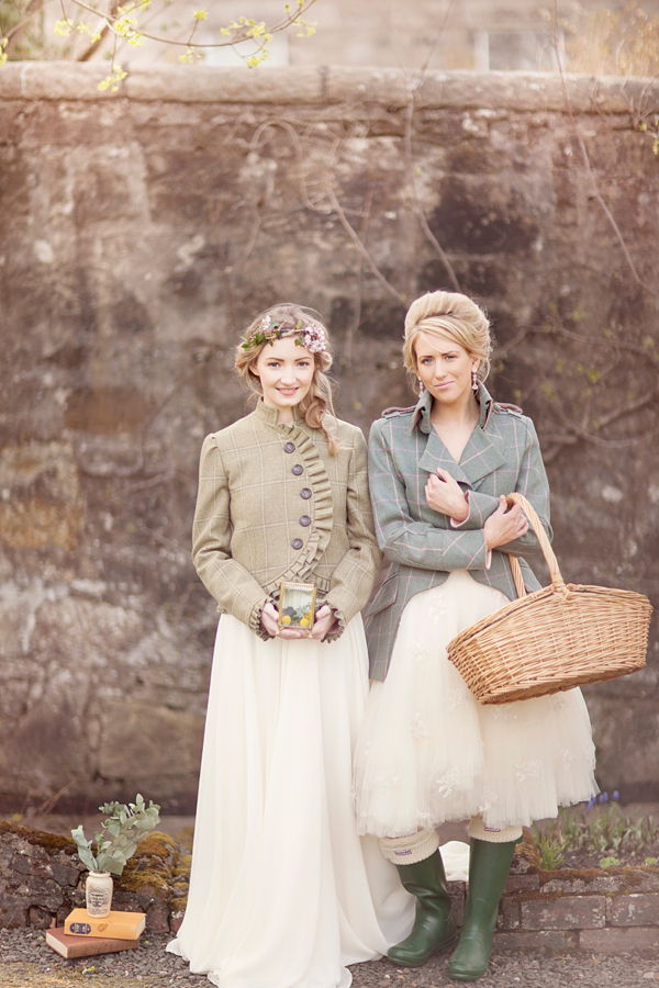 Whimsical Scottish Castle Heritage wedding inspiration