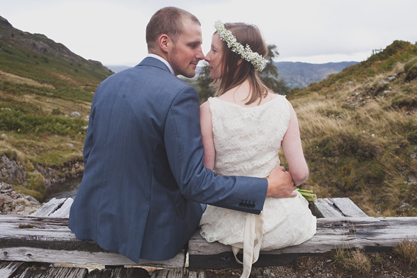 A Sweet Gypsophila Flower Crown And Dress By Minna For A Charming Lake District Wedding (Weddings )